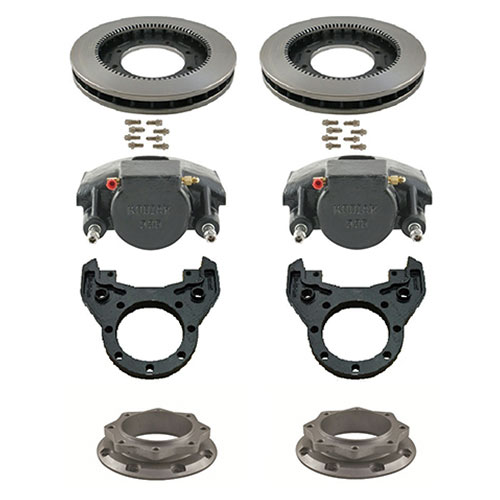Kodiak 10K Torsion Suspension Single Wheel Disc Brake Kits and