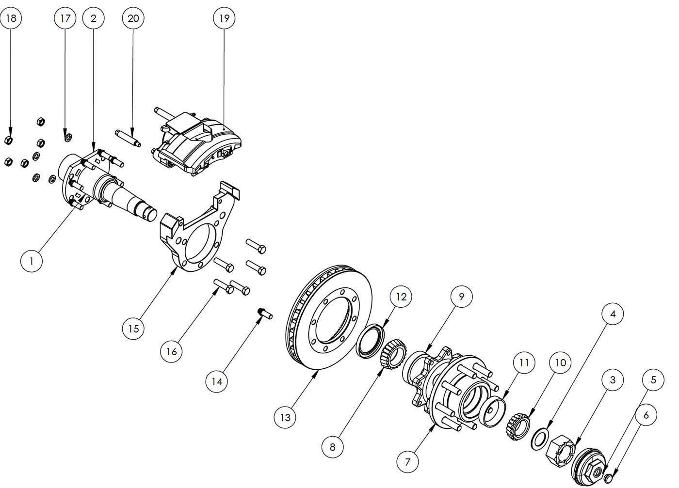 Rockwell Power Divider axle Repairs