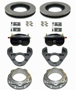 Kodiak Rockwell American 12K Axle Dual Wheel Automotive/E-coated Disc Brake Kit