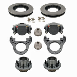 Kodiak Rockwell American 14K Axle Single Wheel E-coated Disc Brake Kit