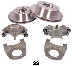 Kodiak 5.2-6K 12 Inch Slipover Rotor Stainless Steel Disc Brake Kits