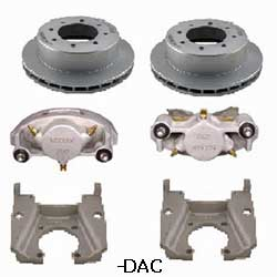 Kodiak Dexter/Lippert 8K 13 Inch Slipover Dacromet Disc Brake Kits