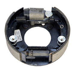 Dexter 7 x 1 3/4 Inch Hydraulic Single-Servo Brake Assemblies