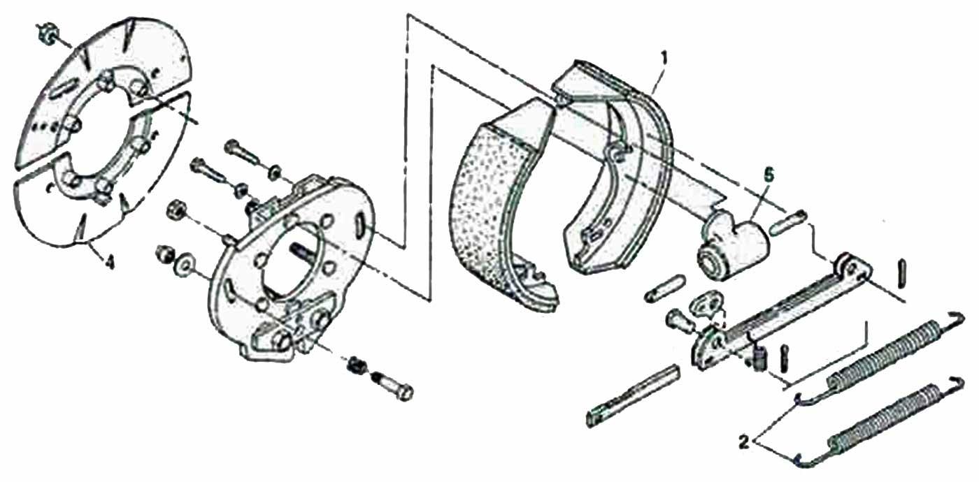 Hayes 12 1 4 X 3 2 Inch Duo Servo Hydraulic Trailer Brake Wiring Diagram