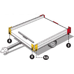 Federal Trailer Lighting Specification Area 1, 2, 6, 7